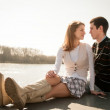 Young couple in love together — Stock Photo #25553281