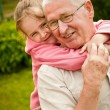 Love - grandparent with grandchild portrait — Stock Photo #28790369