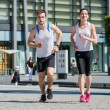 Jogging together — Stock Photo
