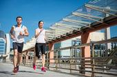 Bieganie razem — Zdjęcie stockowe