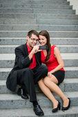Het nemen van foto overal met mobiele telefoon — Stockfoto