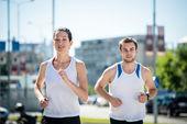 Společně zaběhat — Stock fotografie