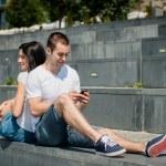 Mobility - couple lifestyle — Stock Photo #38702563