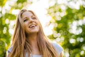 Teen girl portrait — Stock Photo