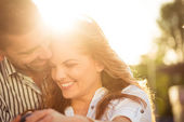 Happy together - couple in love — Stock Photo