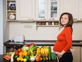 Pregnanancy - healthy lifestyle — Foto de Stock