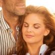 Intimate moments - couple in love — Stock Photo
