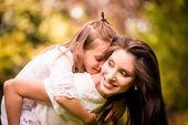 Madre e figlio insieme — Foto Stock