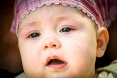 Tears - crying baby — Stock Photo