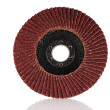 Stock Photo: Abrasive grinding wheel.