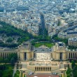 View from Eiffel tower to the Paris city — Stock Photo #13471402