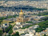 Paris view from Montparnasse tower. France. — Stock Photo