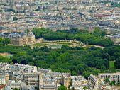 Park in Paris: Jardin du Luxembourg palace — Photo