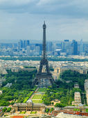 Paris view from Montparnasse tower. France — Stock Photo
