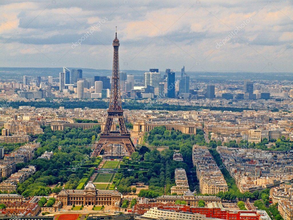 Vue depuis la tour montparnasse la ville de paris for Piscine montparnasse