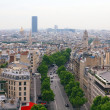 Paris city. View to the Montparnasse tower — Stock Photo