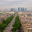 Paris city view to the Defense district — Stock Photo #13794717