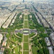 Paris beautiful places - Champ de Mars — Stock Photo