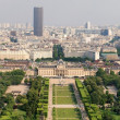 Stock Photo: Paris beautiful places - Champ de Mars