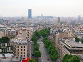 Paris city. View to the Montparnasse tower — Stock Photo