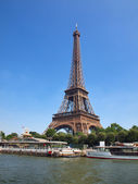 European cities - Paris city - Eiffel tower — Stock Photo