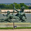 Sculptures and pond of Royal residence at Versailles near Paris in France — Stock Photo #13976991