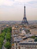 Ciudades europeas - objetos de la ciudad de parís - torre eiffel. — Foto de Stock