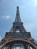 European cities - Paris city - Eiffel tower. — Stock Photo