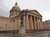 Paříž panteonu široký úhel pohledu. paříž — Stock fotografie