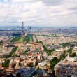 Paris aerial view from Montparnasse tower -  
