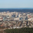 Vilnius city aerial view - Stockfoto