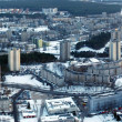 Vilnius city aerial view — Stock Photo