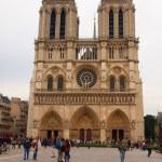Cathedral Notre-Dame de Paris. France — Stock Photo