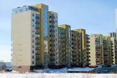Perkunkiemis residential block — Stock Photo