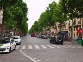 Paris city street day life. France. — Stock Photo