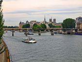 Ile de la cité. parís. francia — Foto de Stock