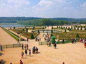 Jardins do palácio de versalhes. frança. 20 de junho de 2012 — Foto Stock