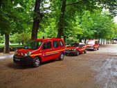 Sapeurs-Pompeurs de Paris. France. June 21, 2012 — Stock Photo