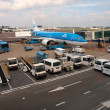 Schiphol airport at work. Amsterdam city. September 10, 2012 — Stock Photo #24580283