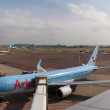 Schiphol airport at work. Amsterdam city. September 10, 2012 — Stock Photo #24580305