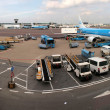 Schiphol airport at work. Amsterdam city. September 10, 2012 — Stock Photo #24580323