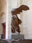 Nike (Victory) of Samothrace. France. June 20, 2012 — Stock Photo