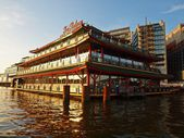 Sea Palace - Amsterdam city. September 08, 2012 — Stock Photo