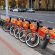 City bikes for rent — Stock Photo #41781555