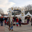 City christmas tree, vilnius, Litouwen — Stockfoto