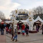 Miasto choinki, Wilno, Litwa — Zdjęcie stockowe