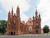 ビリニュス、リトアニアの聖アンナ教会. — ストック写真