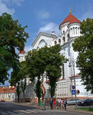 Orthodox Cathedral of the Theotokos in Vilnius — Stock Photo