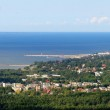 Panoramic view of Tallinn town in summer. Estonia — Stock Photo #42292611
