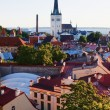 View over the Old Town of Tallinn — Stock Photo